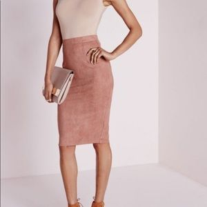 NWT missguided berryana skirt